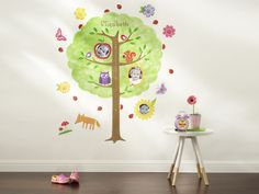 Forest Friends Growth Chart by Shutterfly: http://www.shutterfly.com/photo-gifts/personalized-growth-chart-decals/forest-friends-growth-chart?productCode=1084242&categoryCode=1084065&skuCode=1084243