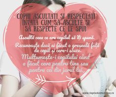 #Parenting #citate #educație #copii #respect Teacher Resources, Kids And Parenting, Respect, Education, Bebe, Onderwijs, Learning