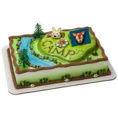 Camping Adventure Cake Topper Decorating Kit by Bakery Supplies Cupcakes Online, Camping Cakes, Camping Theme, Bakery Crafts, Backyard Birthday Parties, Cake Decorating Kits, Decorating Tools, Cake Kit, Bakery Supplies