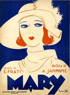 Cover Sheet Music by Carlo InnoCenzi (1899-1962), 1930, Mary. (I)