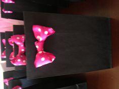 Minnie Mouse party favor bags @Fallon D