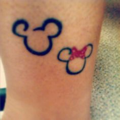 Would love to get the Minnie Mouse one behind my ear