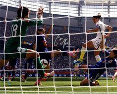 Carli Lloyd Signed 2015 Women's World Cup Goal 16x20 Metallic Photo (LE/50)