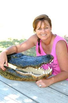 Liz from Swamp People