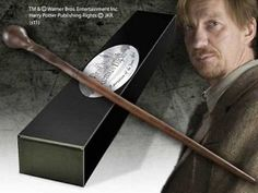 Harry #potter remus lupin #character wand with nameplate. #licensed prop replica, View more on the LINK: http://www.zeppy.io/product/gb/2/151016113423/