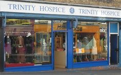 Charity Shops (aka Thrift Stores) in London. In case I need to pick up a few things while I'm there!