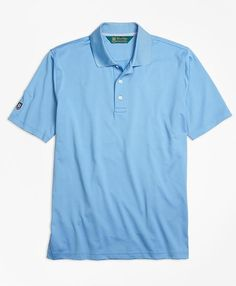 Find high-performance, great-looking men's golf apparel at Brooks Brothers. Shop men's golf shirts, pants, shorts and more to hit the course with confidence. Mens Golf Outfit, St Andrews, Golf Polo Shirts, Brooks Brothers, Man Shop, Stylish, Mens Tops, Fashion, Moda