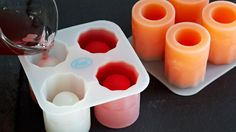 Ice shot glass molds