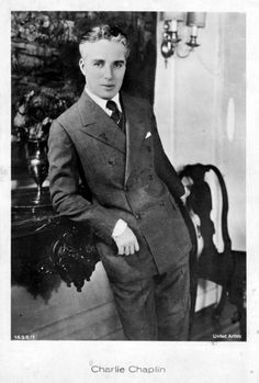 Charlie Chaplin 1927 - photographed in NYC.