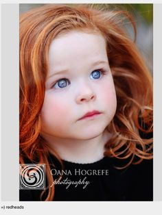 This will be my child someday. I want a ginger baby!