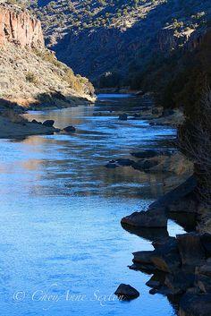 The Rio Grande in New Mexico.