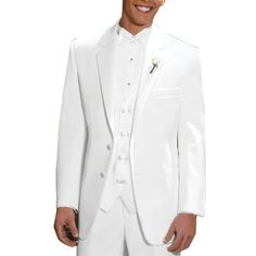CMDC Men's New Wedding Pure Color Three-piece Tuxedo D237 at Amazon Men's Clothing store: