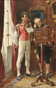 """Jose Jimenez Y Aranda - """"ensayo De Duo Para Violin Y Flauta"""""""