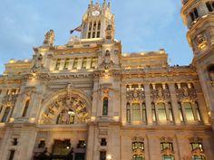 Palacio de Comunicaciones, Madrid.