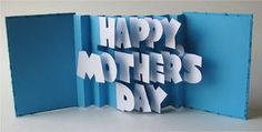 Mother's Day Pop-up Card