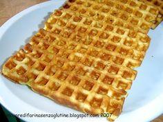 Waffel Senza Glutine   Un cuore di farina senza glutine