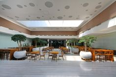 Complex modern de birouri in zona Baneasa Office Canteen, Building, Modern, Plants, Trendy Tree, Buildings, Plant, Construction, Planets