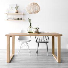 Mesa de comedor Kabe - Kenay Home Boy Room, Eames, Dining Table, Chair, Html, Furniture, Rooms, Home Decor, Ideas