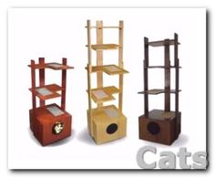 PurrfecTrends Cat Tower Provides Alternative to Carpet.