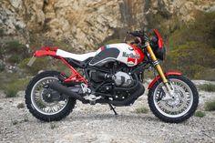 BMW R NineT Street Tracker Marlboro by Luis Moto - Photo by Giancarlo Laudonia #motorcycles #streettracker #motos   caferacerpasion.com