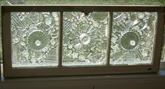Images of Old Window Glass
