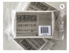 Air Dry IOD Clay from Iron Orchid Designs IOD in stock now at ReVamp Vintage Market. A beautifully soft and pliable air dry clay, this product works Iron Orchid Designs, Liquid Chalk, Cutting Tables, Paperclay, Air Dry Clay, Schmuck Design, Diy Painting, Faux Painting, Painting Lessons