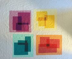 Transparency Quilt 1 -- progress and final | Melissa | Flickr