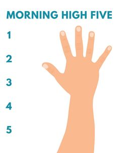 The Morning High Five: A simple morning routine to get your kids moving and your house in order - Frugal Living NW