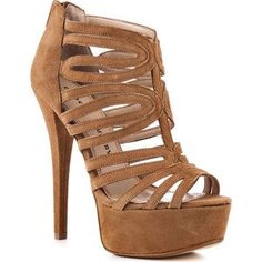 Brown Gladiator Heels