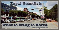 I did a lot of research before we moved here to South Korea on what we would need to bring and what we could leave behind. A lot of the information I found though was geared toward single people coming here to teach English and/or those who would not have access to the things that [...]