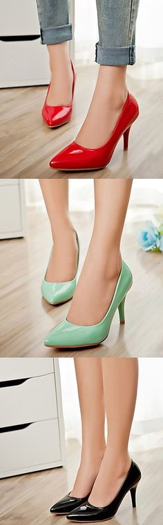 A IT girl can't get enough of stiletto heels. Would you also add them to your collection? Repin if you like it <3