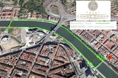 Runners track in Bilbao, from Hotel Conde Duque Bilbao, 2.5km