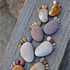 Pebble toes-- too cute!