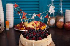 birthday cake, birthday with Moomin trolls
