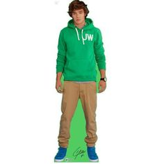 One Direction Liam Life-size Stand-up Cutout. Green looks great on Liam.