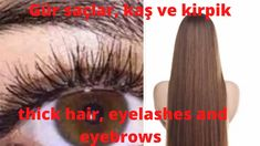 Thicker Eyelashes, Stop Hair Loss, Hair Remedies, Youtube, Hair Transformation, Fett, Lip Makeup, Dyed Hair, Eyebrows
