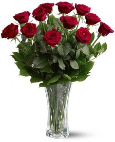 Aren't they absolutely stunning?! These are the dozen red roses found at http://www.overseasflowerdelivery.com/category-roses/dozen-red-roses