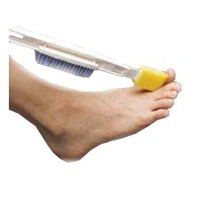 Foot Brushes. Pinned by OTtoolkit.com. Treatment plans and patient handouts for the OT working with physical disabilities and geriatrics.