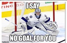 After a great start to his young NHL career, what should the Tampa Bay Lightning do with Andrei Vasilevskiy when Ben Bishop returns from injury? Pro Hockey, Hockey Teams, Funny Hockey, Hockey Stuff, Tampa Bay Lighting, Bay Sports, Hockey World, Minnesota Wild, Man Up