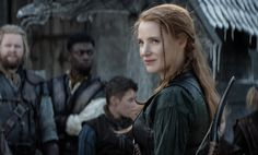 """Jessica Chastain on The Huntsman: Winter's War: """"This is an equal opportunities film finally!"""