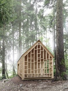Architecture  Modern design : Forest Cabin by Bernd Riegger Offers Sanctuary in the Wild