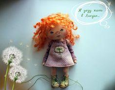 Маленький рыжий Ангел18см без ботинок#ангелочекмои #Ангелрыжик#текстильнаякукла #миниатюра#кукладлядуши #счастьевдом@made_golden_hands