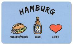 Fischbrötchen+Bier+Liebe