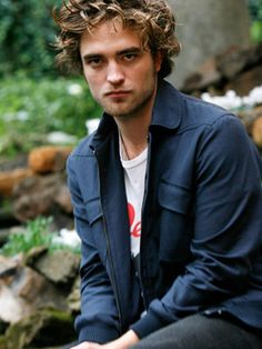 Rob Pattinson - love the curly hair style for my son