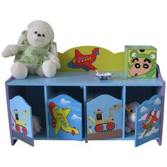 Liberty House Toys Transport 4-Door Cabinet, £59.99.