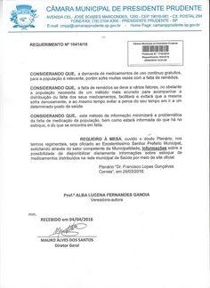Profª Alba Lucena: Requerimento: Informações sobre estoque de medicam...