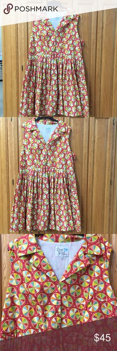 Bea & Dot by Mod Cloth Dress Bea & Dot by Mod Cloth Dress  Colorful triangles in circle pattern Vintage style 60's sleeveless pleated Dress  Size 3X Good condition Modcloth Dresses