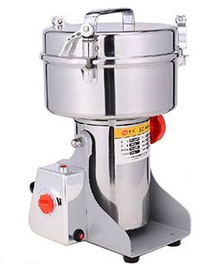 300g Electric Stainless Steel Grain Mill Grinder Family medicial Powder Machine Commercial Electric Grinder Cereals Grain Mill Herb Grinder,Pulverizer 110v//220v Gift for mom Wife