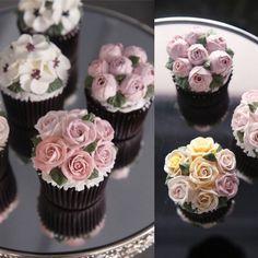 """#cupcake #cake #flowercake #partycake #birthday #buttercreamcake #buttercream #designcake #플라워케익 #컵케이크  www.soocake.com"""