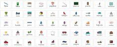 Colección de mas de 150 tarjetas de vocabulario ideales para infantil listas para imprimir